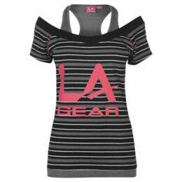 L.A. Gear  Multi Layer T Shirt Ladies  women's T shirt in Black