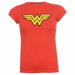 Dc Comics  Wonder T Shirt Ladies  women's T shirt in Red