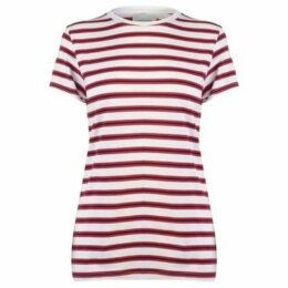 Rock And Rags  Crew T Shirt Ladies  women's T shirt in Multicolour