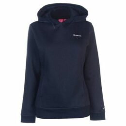 L.A. Gear  Over The Head Hoody Ladies  women's Sweatshirt in Blue