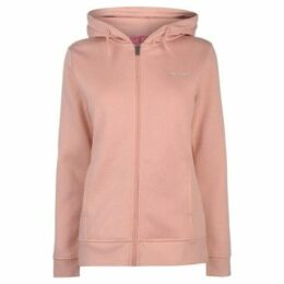 L.A. Gear  Full Zip Hoody Ladies  women's Sweatshirt in Pink