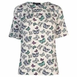 M Collection  Printed Top Ladies  women's Blouse in Other