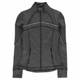 Sportfx  Lightweight Reflective Jacket Ladies  women's Sweatshirt in Grey
