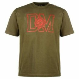 Diem  Champion Tee  women's T shirt in Green
