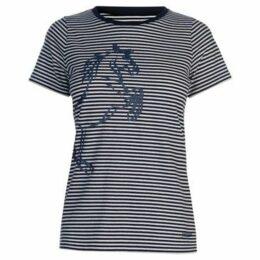 Requisite  Ladies Horse Tee  women's T shirt in Multicolour