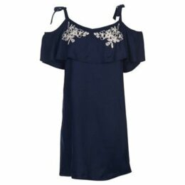Soulcal  Bardot Dress Ladies  women's Blouse in Blue