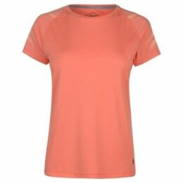 Asics  Icon Short Sleeve Top Ladies  women's T shirt in Pink