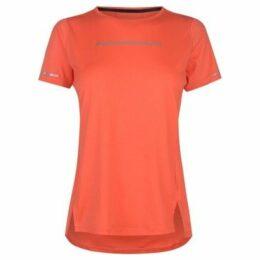 Asics  Lite Show Short Sleeve Top Ladies  women's T shirt in Orange
