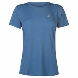 Asics  Core Running T Shirt Ladies  women's T shirt in Blue