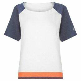 Asics  Cool Short Sleeve Running T Shirt Ladies  women's T shirt in Multicolour