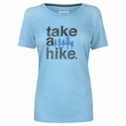 Columbia  T Shirt Ladies  women's T shirt in Blue