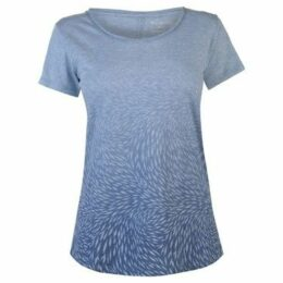 Columbia  Ocean T Shirt Ladies  women's T shirt in Blue