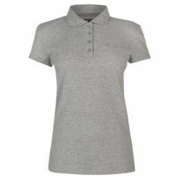 Donnay  Pique Polo Ladies  women's Polo shirt in Grey