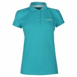 Donnay  Pique Polo Ladies  women's Polo shirt in Blue