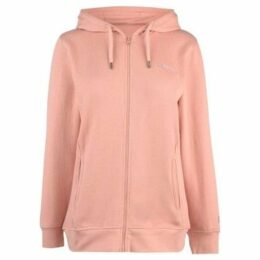 Donnay  Full Zip Hoody Ladies  women's Sweatshirt in Pink