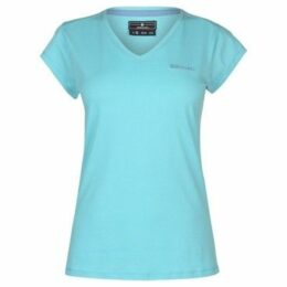 Donnay  V Neck Tee Ladies  women's T shirt in Blue