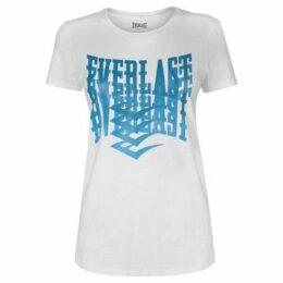 Everlast  Graphic T Shirt Ladies  women's T shirt in White