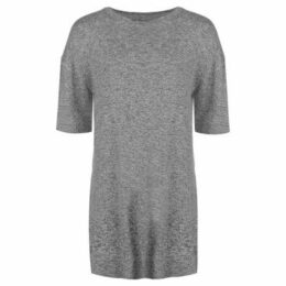 Firetrap  Blackseal Oversized T Shirt  women's T shirt in Grey