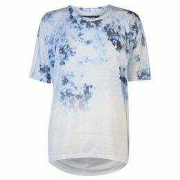 Firetrap  Batwing T Shirt Ladies  women's T shirt in White