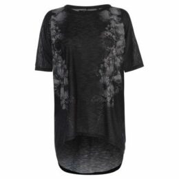 Firetrap  Lucy T Shirt Ladies  women's T shirt in Black