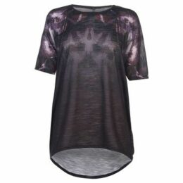 Firetrap  Lucy T Shirt Ladies  women's T shirt in Multicolour