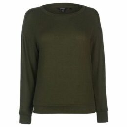 Golddigga  Soft Fleece T Shirt Ladies  women's Sweatshirt in Green