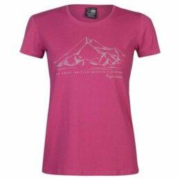 Karrimor  Organic TShirt  women's T shirt in Pink