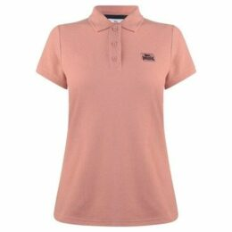 Lonsdale  Lion Polo Shirt Ladies  women's Polo shirt in Pink