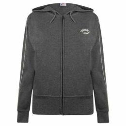 Lonsdale  Interlock Hoodie Ladies  women's Sweatshirt in Grey