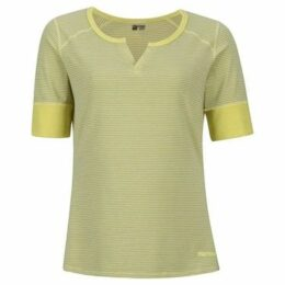 Marmot  Cynthia Tee Ladies  women's T shirt in Yellow