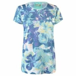 Marmot  Aero T Shirt Ladies  women's T shirt in Blue