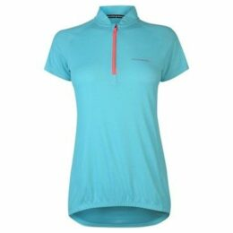 Muddyfox  Cycling Short Sleeve Jersey Ladies  women's T shirt in Blue