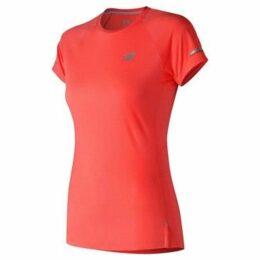 New Balance  Ice Tee Ladies  women's T shirt in Red