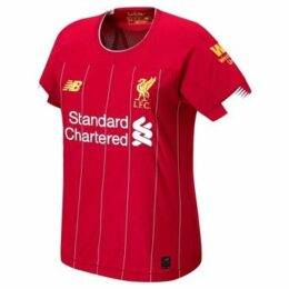 New Balance  Liverpool Home Shirt 2019 2020 Ladies  women's T shirt in Red