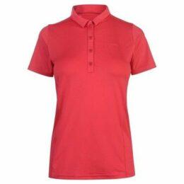 Slazenger  Plain Polo Shirt Ladies  women's Polo shirt in Pink