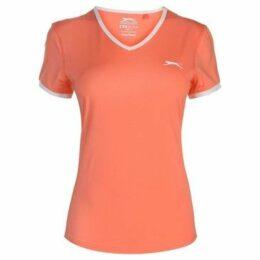 Slazenger  Court T Shirt Ladies  women's T shirt in Orange