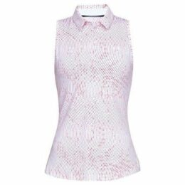 Under Armour  Zing Sleeveless Novelty Polo Shirt Ladies  women's Polo shirt in Multicolour