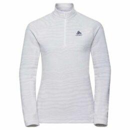 Odlo  Albula High Zip Top Ladies  women's Fleece jacket in White