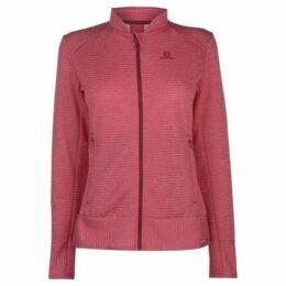 Salomon  Right Nice Fleece Jacket Ladies  women's Fleece jacket in Pink