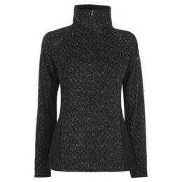 Columbia  Glacil Half Zip Top Ladies  women's Fleece jacket in Black