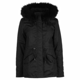 Firetrap  Petie Parka  women's Parka in Black