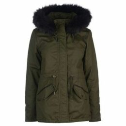 Firetrap  Petie Parka  women's Parka in Green