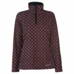 Gelert  Printed Fleece Ladies  women's Fleece jacket in Red