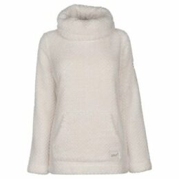 Gelert  Yukon Cowl Fleece Top Ladies  women's Fleece jacket in White