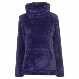 Gelert  Yukon Cowl Fleece Top Ladies  women's Fleece jacket in Blue
