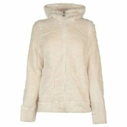 Gelert  Yukon Fleece Hoodie Ladies  women's Fleece jacket in White