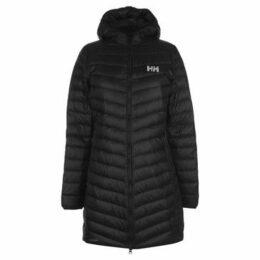 Helly Hansen  Verglas Long Down Jackets Ladies  women's Jacket in Black