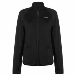 Usa Pro  Fitness Jacket  women's Tracksuit jacket in Black