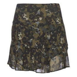 Ikks  BP27055-56  women's Skirt in Black