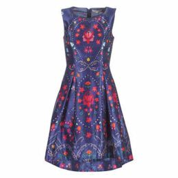 Derhy  BEAUBOURG  women's Dress in Blue